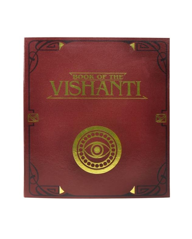 Коробка выполнена в виде книги Вишанти