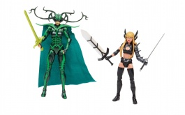 Девушки - Хела (владычица асгардского ада) и Ильяна Распутина (мутант, королева Лимба)