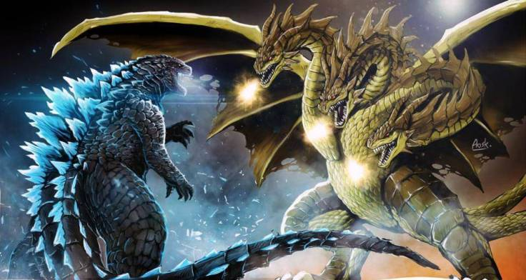 godzilla2014-vs-ghidorah-alternate-fanart