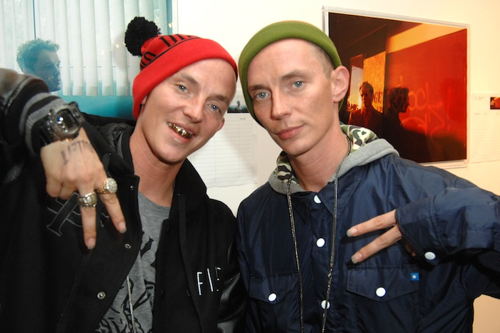 ATL Twins== Anton Yelchin and BULLETT Magazine Spring Fling== DILETTANTE, Los Angeles, CA== April 11, 2012== ©Patrick McMullan== Photo – DAVID CROTTY/patrickmcmullan.com==