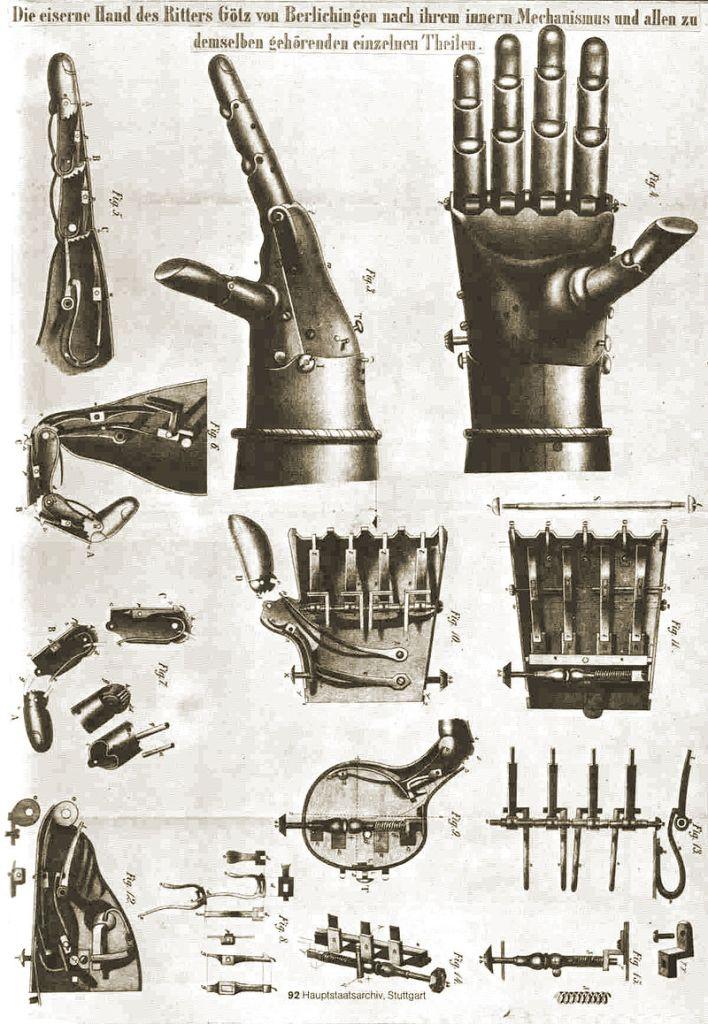 Схемы Железной Руки MK II