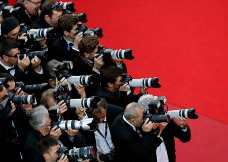 France Cannes Behind the Candelabra Red Carpet