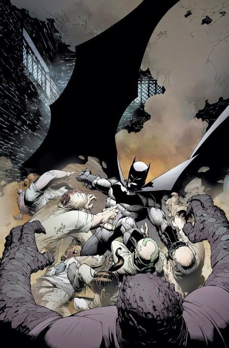 Batman V2 01 Textless Comics Cover