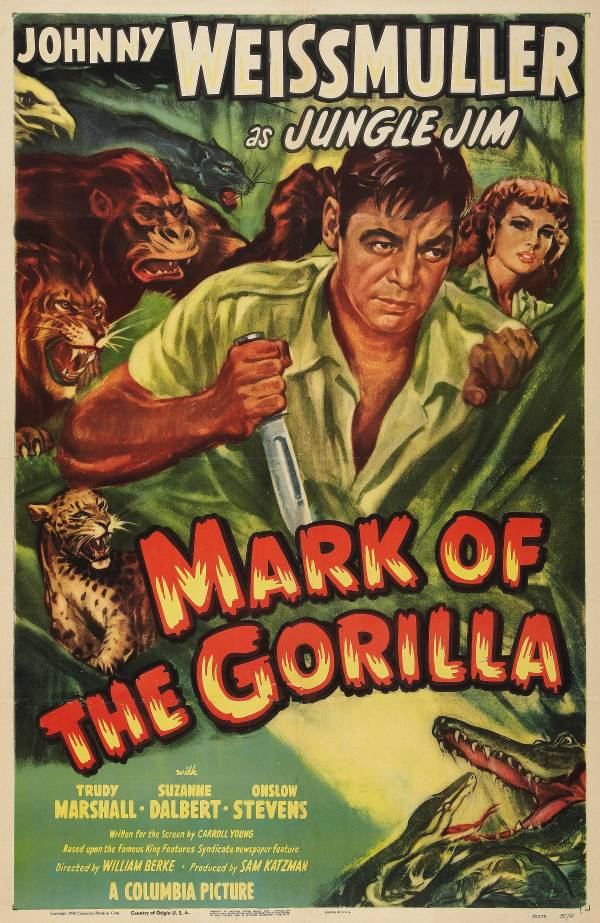 The Mark of the Gorilla - 1sht 600
