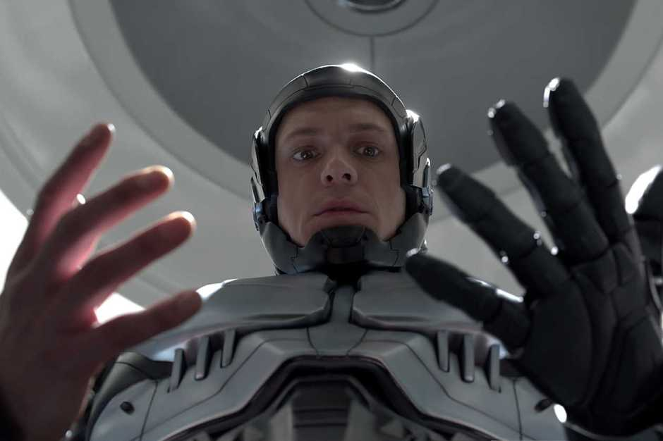 """Joel Kinnaman stars in Columbia Pictures' """"Robocop."""""""