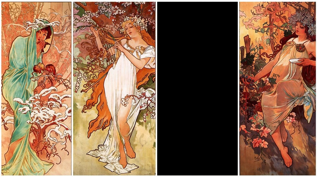 decorative-art-muchas-4-seasons-by-alphonse